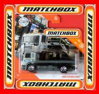 MATCHBOX 2020   FLATBED KING  POLICE   25 /100   NEU&OVP