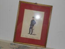 Vtg. Italian Military Museum 1873 Ufficiale Piccola Uniforme con SpFramed Print
