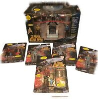 Classic Star Trek Bridge Collector Figure Set 1993 Playmates Numbered Edition