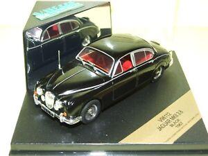 WOW EXTREMELY RARE Jaguar MkII 3.8 LHD 1967 Black Reg Red int 1:43 Vitesse-Spark