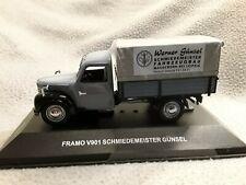 Framo * LKW Pritsche / Plane * Schmiedemeister Günsel * 1:43 IST (CCC053)