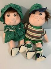 Boy and Girl Handmade Dolls by Cory (anatomically correct) 18""