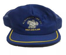 Vintage Michelin Algonquin Tire Co Foam Mesh Snapback Horizon Sportswear Hat Cap
