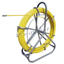 ECO Fish Tape Fiberglass Wire Cable Running Rod Duct Rodder Fishtape Puller 6mm