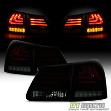 2006-2011 Lexus GS350 Philips Lumileds LED Tail Lights Brake Lamps Red Smoked