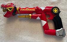 POWER RANGERS DINO THUNDER TYRANNO STAFF Toy Gun 2003 Bandai MMPR