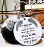 Personalised Photo Keyring - Memorial Bereavement Angel - In Memory of Gift