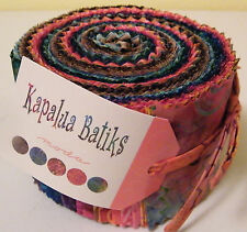 "Moda FABRIC Jelly Roll ~ KAPALUA BATIKS ~  40 - 2.5"" strips"