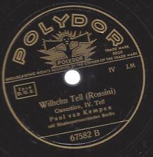 Paul van Kempen Staatsorchester Berlin 1940 : Ouvertüre zu Wilhelm Tell - Rossin