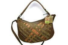 Lucky Brand Robertson Convertible Large Leather Hobo Taupe