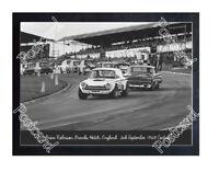 Historic Brian Robinson, Brands Hatch, England, 1968 Cortina Postcard