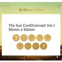SF9 - 3RD MINI ALBUM KNIGHTS OF THE SUN THE SUN CARD TAEYANG CHANI DAWON INSEONG