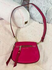 Marc Jacobs Trooper Nomad small shell shoulder bag Handbag Fuchsia Hot Pink Used