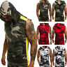 Summer New Men's Clothes Pullover Slim Fit Blouse Basic Hoodie Gym T-shirt Tops