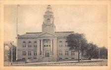 Bridgeton New Jersey Cumberland Co Court House antique pc Z10780