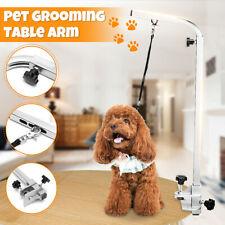 Adjustable Foldable Steel Grooming Table Dog Pet Bracket Bath Arm Non Slip