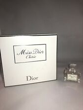 Miss Dior Cherie Women Perfume Splash EDT .17 Oz Miniature 5 mL RARE NEW IN BOX