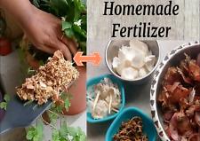 Homemade Organic Fertilizer Powder For Flowering all Plants Flower Growing Magic