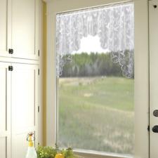 "Heritage Lace White HUMMINGBIRDS Window Swag Pair 72""W x 36""L"