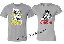 His Chichi Her GOKU Training Tees Gym Couple matching funny cute T-Shirts S-4XL