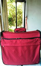 Joy Mangano TravelEase Clothes It All Luggage System RUBY RED NEW WITHOUT TAG