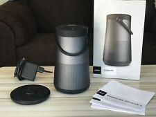 Bose Revolve Plus bluetooth speaker (black, mint condition) incl charging base