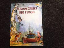 Possum Creek's Big Flood by Dan Vallely Yvonne Perrin paperback RARE