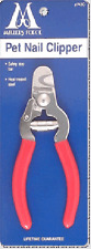MILLERS FORGE SCISSOR PET NAIL CLIPPER TRIMMER WITH SAFETY BAR STOP 743C