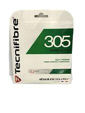 Tecnifibre 305 Gauge 18 1.10 Squash String Green New Single Pack