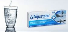 Aquatabs 10 tablets water purification tablets treatment cheapest hiking camping
