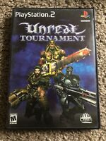 Unreal Tournament Playstation 2 PS2 Complete With Manual CIB