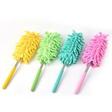 Telescopic Microfibre Duster Extendable Cleaning Home Car Cleaner Dust Supplies