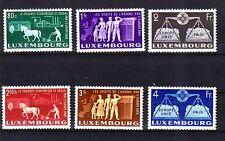 Luxemburg Michelnummer 478 - 483 postfrisch luxus  (intern: Vorläufer)