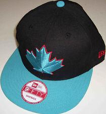 NEW ERA MLB TORONTO BLUE JAYS TEAM ELITE BLACK/TEAL SNAPBACK HAT CAP