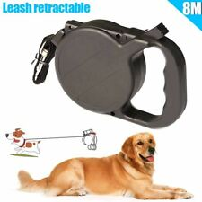 Dog Collar Leash Automatic Retractable Puppy Patrol Rope Walking Leads Traction