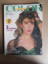 COLOR LANCIO Raccolta n°123 1989  Rivista di Fotoromanzi ed. LANCIO [G831]