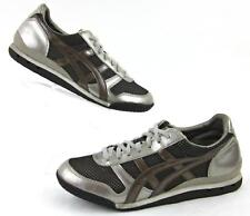 Onitsuka Tiger Womens Fitness Sneakers Platinum / Brown US 8