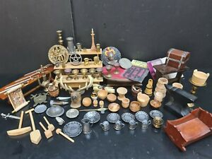 dolls house accessories 84 x Tudor assorted items 1.12th Y