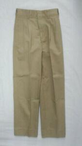 Boys J. Reed Khaki 100% Cotton Uniform Pants Sizes 10 Slim, 10 Reg. & 12 Reg.