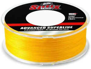 Sufix 832 Advanced Superline, 50 lb, 600 yds, Hi-Viz Yellow, 0998