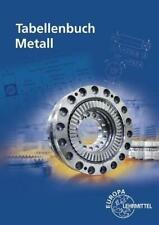 Tabellenbuch Metall   mit Formelsammlung   Roland Gomeringer   Taschenbuch