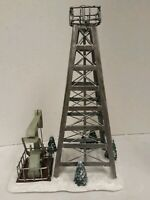 Hawthorne Village Oil Tower And Pump Vintage Christmas  Scene Xmas Village