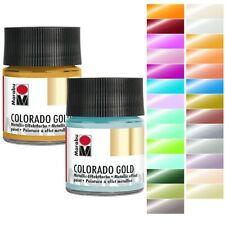 [100ml=8,90?] Marabu Colorado Gold Metallic-Effektfarbe 50ml (freie Farbwahl)