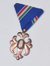 Hungary - Current Order of Vitez, National Defense Cross, bronze