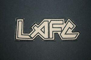 LAFC PATCH METAL HEAD IRON MAIDEN FONT SUPPORT CUSTOM VELA VEST SHIRT HAT SCARF