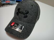 Under Armour Mens Heatgear Pro Fit Hat Color Gray Size MD / LG