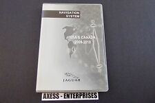 Jaguar XF XK XKR Navigation DVD Set # 898-BG Map © 2009 Edition 2010 US & Canada