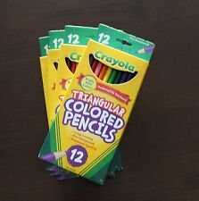 Crayola Triangular  Colored Pencils Kids School Supplies 12 Pack