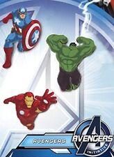 MARVEL Avengers Hulk,Captain America,Iron Man - Flicken Aufnäher Patches 3er SET