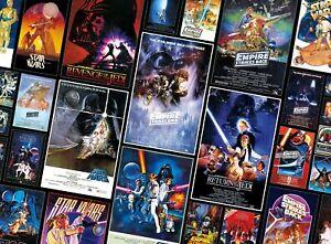 Star Wars Jigsaw Puzzle 1000 piece Original Star Wars Trilogy Movie Posters